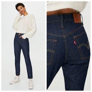 501 Dark Wash Skinny Levi's jeans